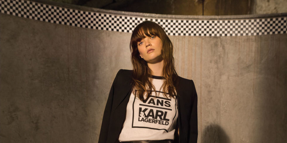 Vans y Karl Lagerfeld traen para nosotros una colecciónúnica