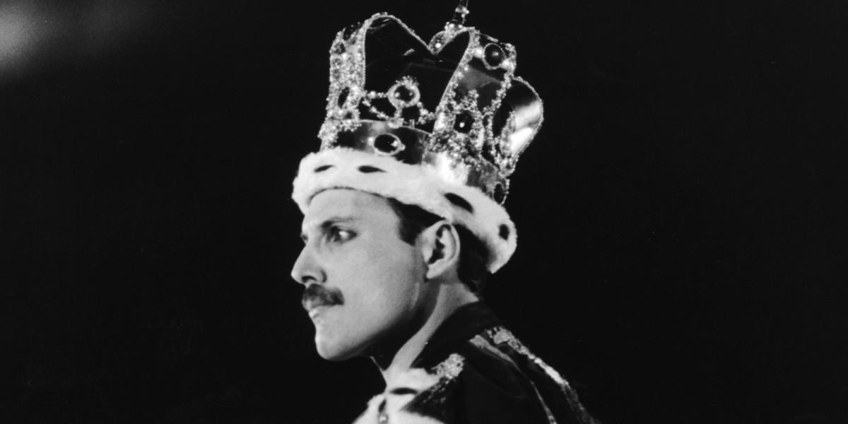 Rami Malek como Freddie Mercury en BohemianRhapsody