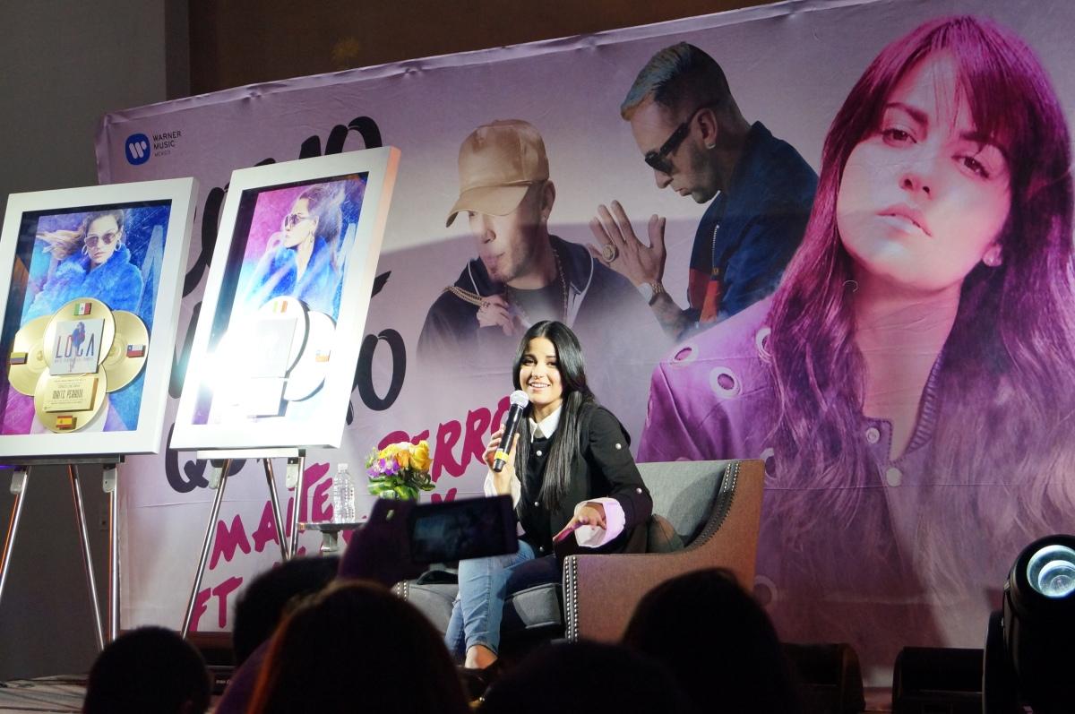 """Maite Perroni recibe Discos de Oro y Platino por """"Loca"""" y estrena """"Como yo tequiero"""""""