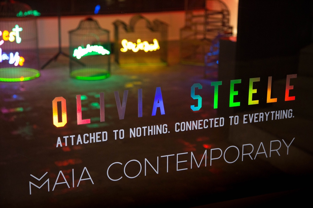 "Última semana de ""Attached to nothing, connected to everything"" de Olivia Steele en Maia Contemporary"