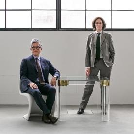 Sharon Johnston y Mark Lee son los socios fundadores de la firma de arquitectura Johnston Marklee, directores Artísticos de la Bienal de Chicago 2017   Los Ángeles. Photo by: Philip Cheung