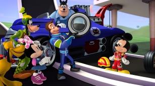(Disney Junior) MICKEY SOBRE RUEDAS.