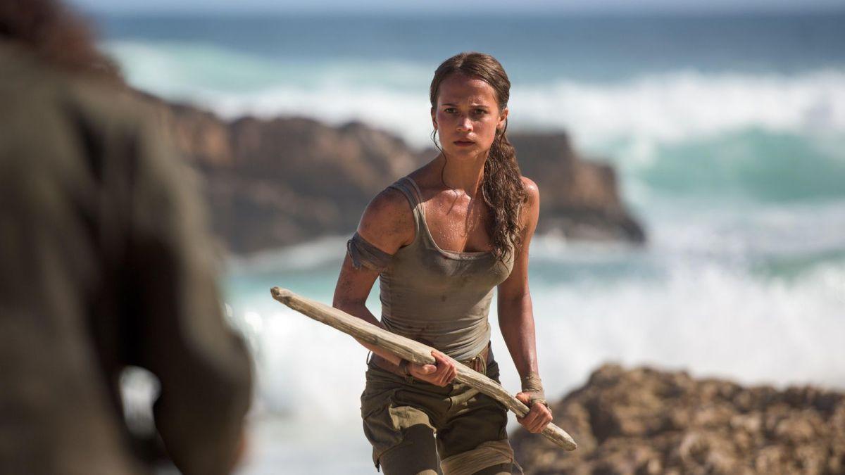 Alicia Vikander saca su heroína interna en el reboot de 'TombRaider'