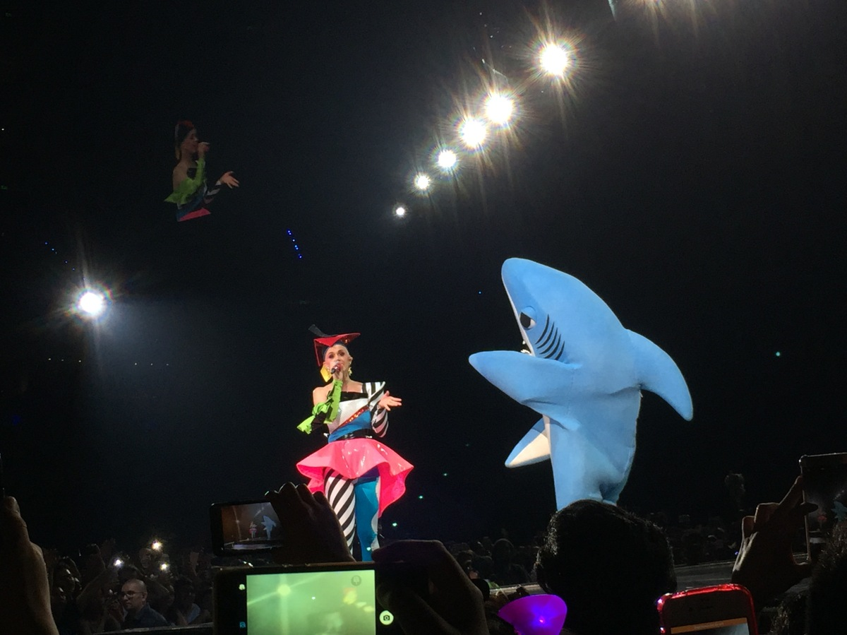 Katy Perry hizo vibrar la Arena Ciudad de México(+VIDEOS)