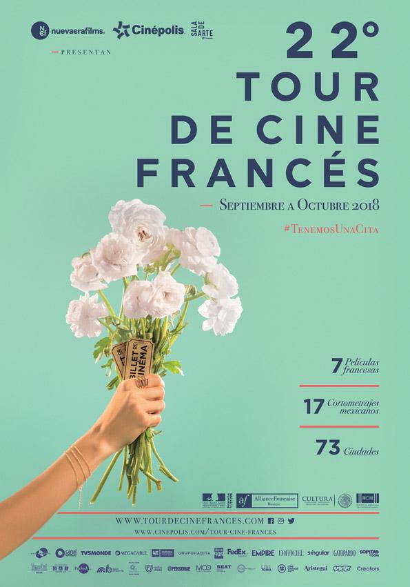 Voilà! El Tour de Cine Francés está a la vuelta de la esquina y#TenemosUnaCita