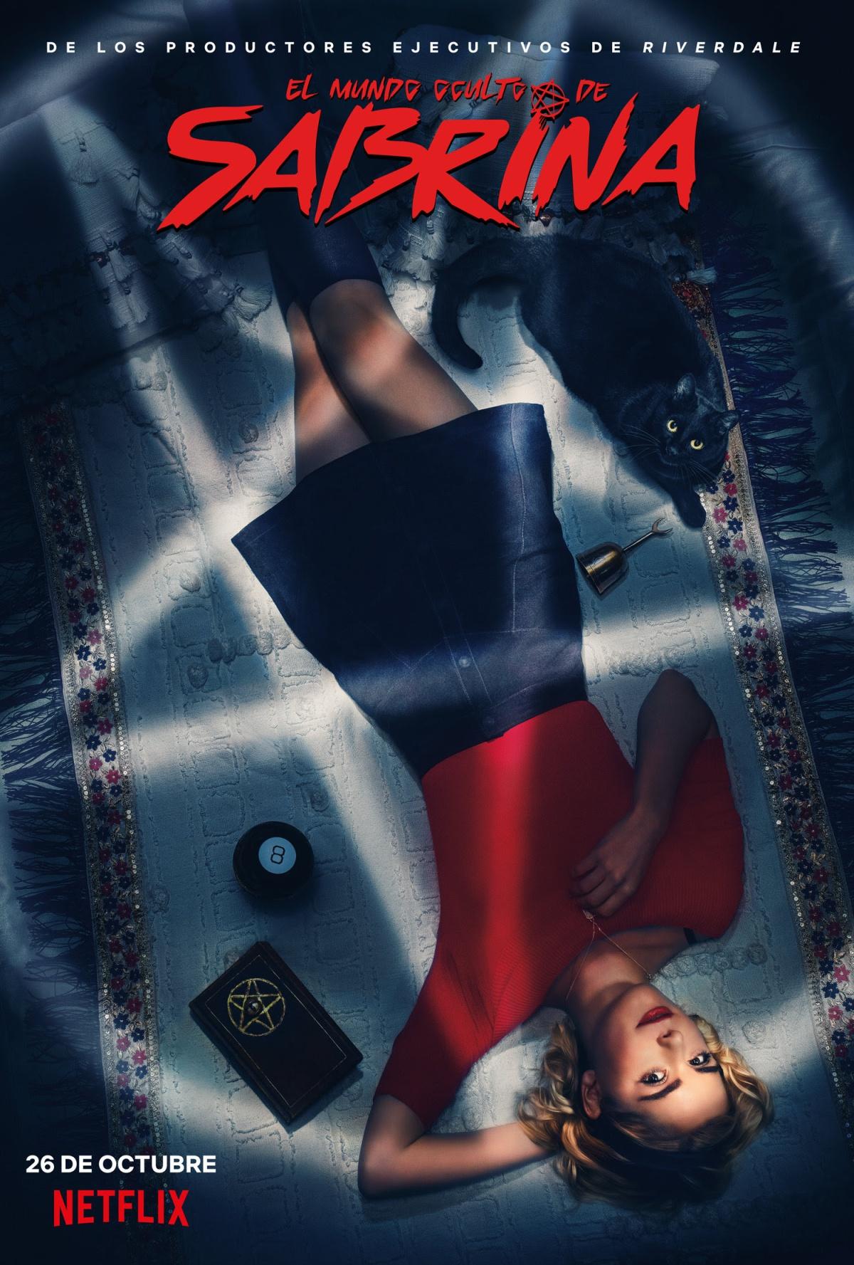 """""""El mundo oculto de Sabrina"""" cuestiona el patriarcado, convirtiéndose en un reboot terrorífico, divertido ygenial."""
