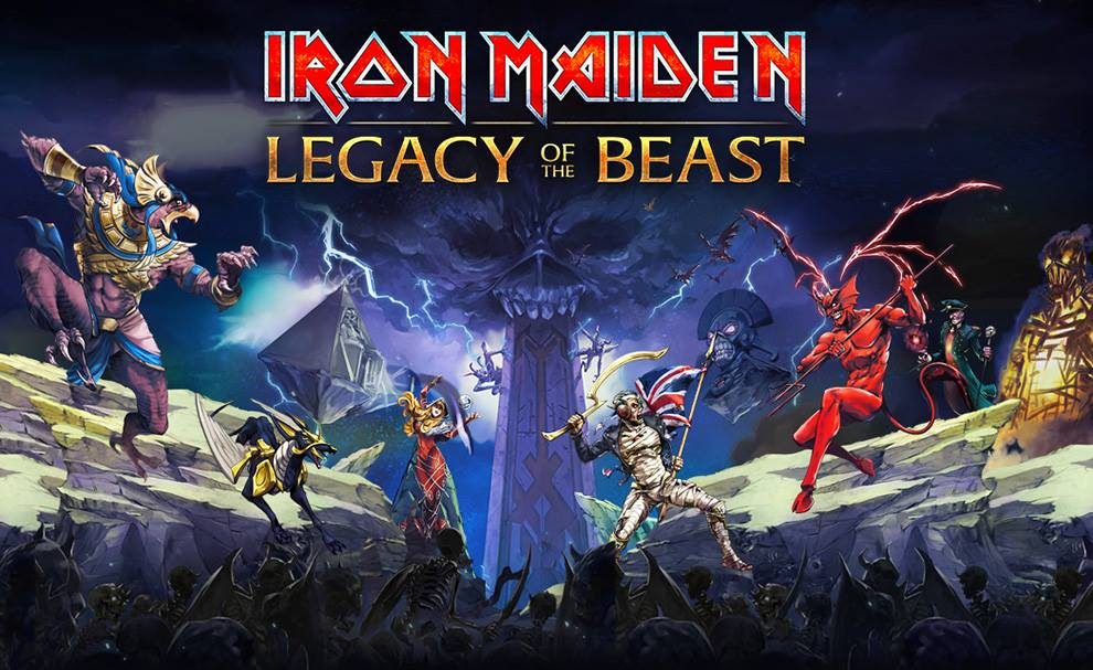 Iron Maiden anuncia tercera fecha en México del Legacy Of The Beast Tour.