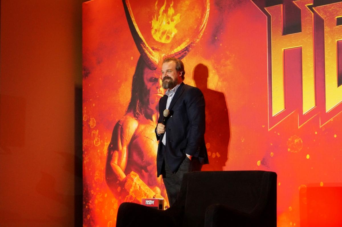 """David Harbour quien da vida a """"Hellboy"""" visitóMéxico"""